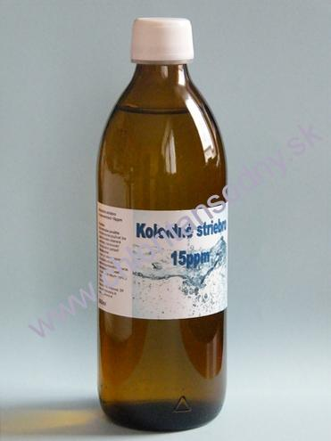 Koloidné striebro 15ppm - 500ml